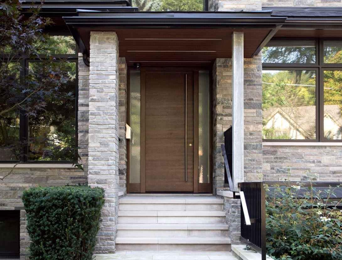 modern home renovations with big windows