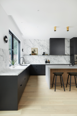 modern kitchen renovation in toronto