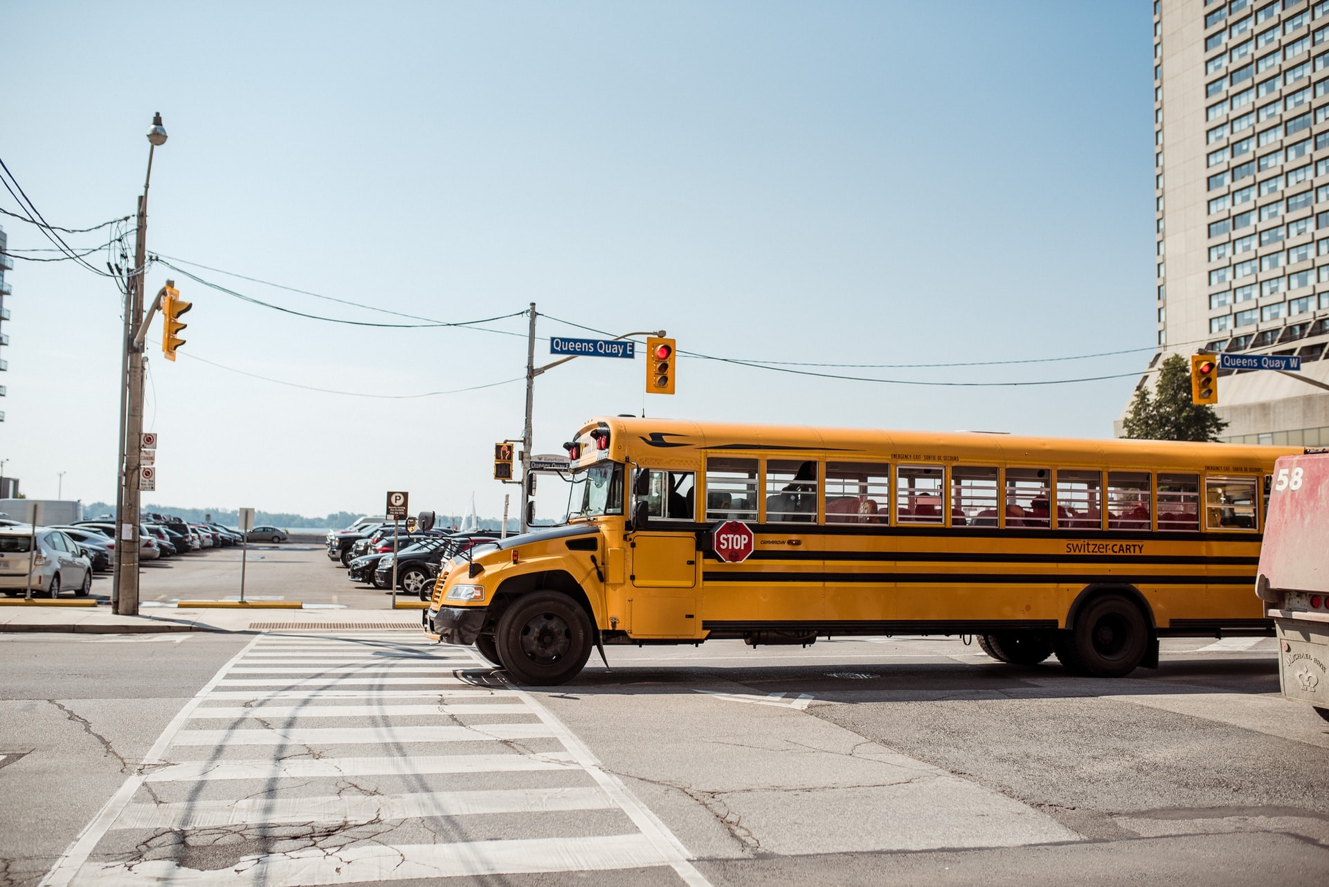 school bus in the GTA