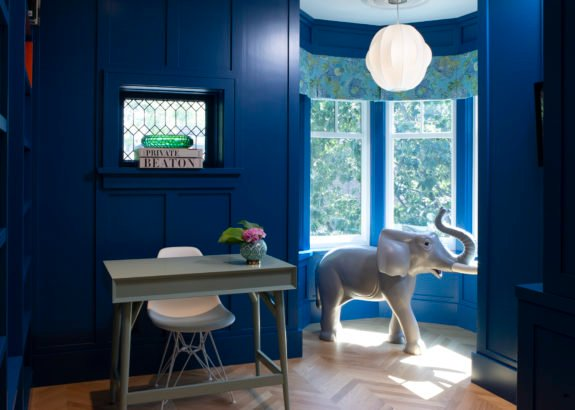 Playter-Estates-House-blue-office-with-elephant